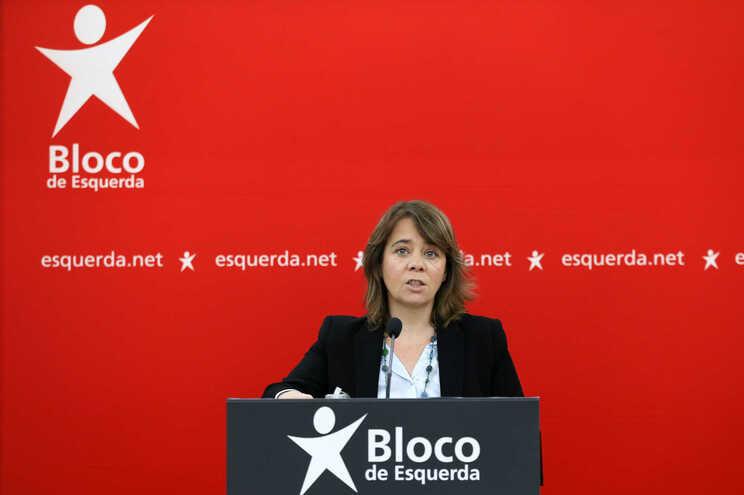 Catarina Martins, coordenadora do Bloco de Esquerda