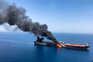 Um dos petroleiros atacados no Estreito de Ormuz