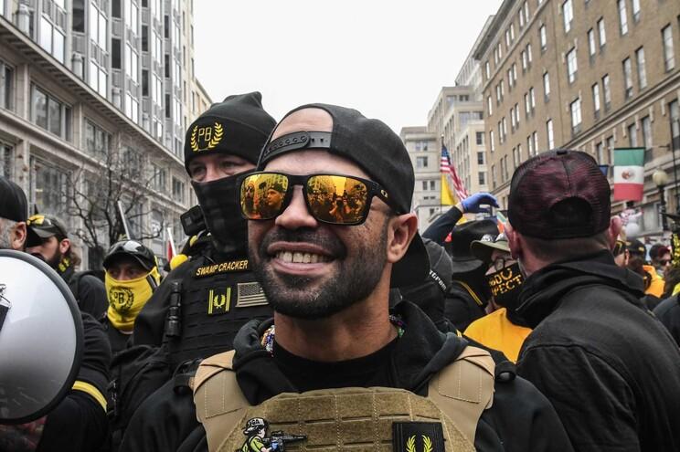 Enrique Tarrio, 36 anos, comanda o grupo extremista de direita