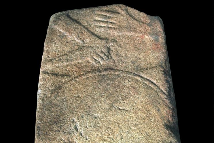Lápide de guerreiro com dois mil anos descoberta em Viseu