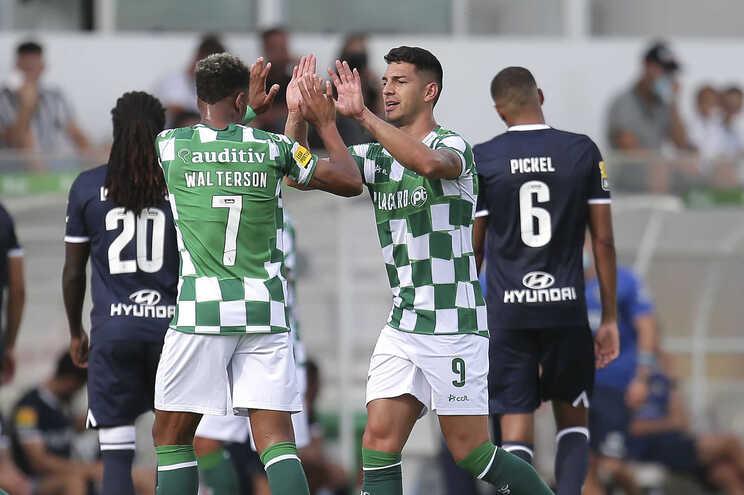 Moreirense e Famalicão empataram a dois golos esta tarde