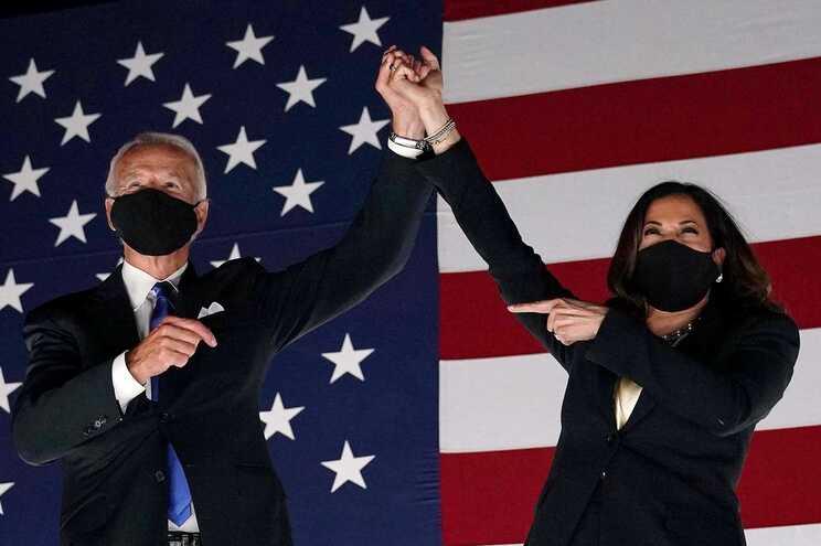 Joe Biden e Kamala Harris são as Personalidades do Ano da revista Time