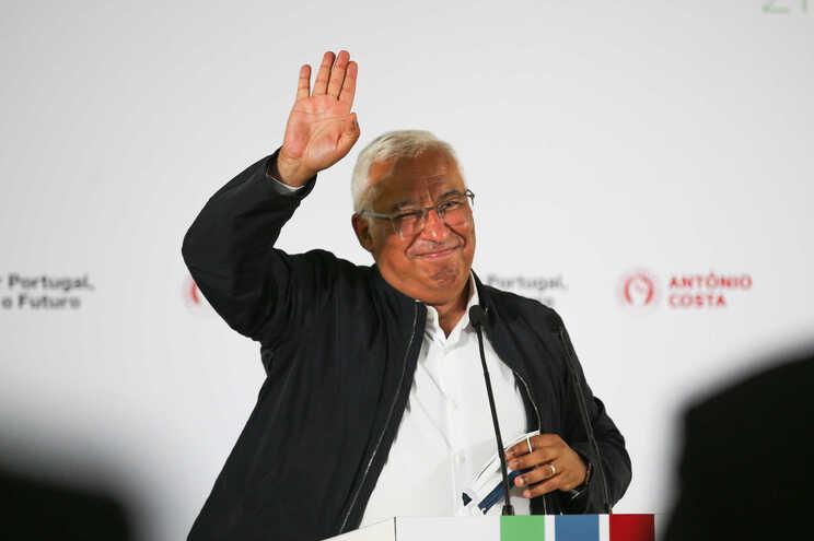 Costa foi reeleito no sábado secretário-geral do PS