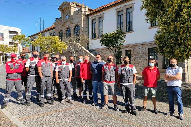 Carteiros do CTT do Marco em greve