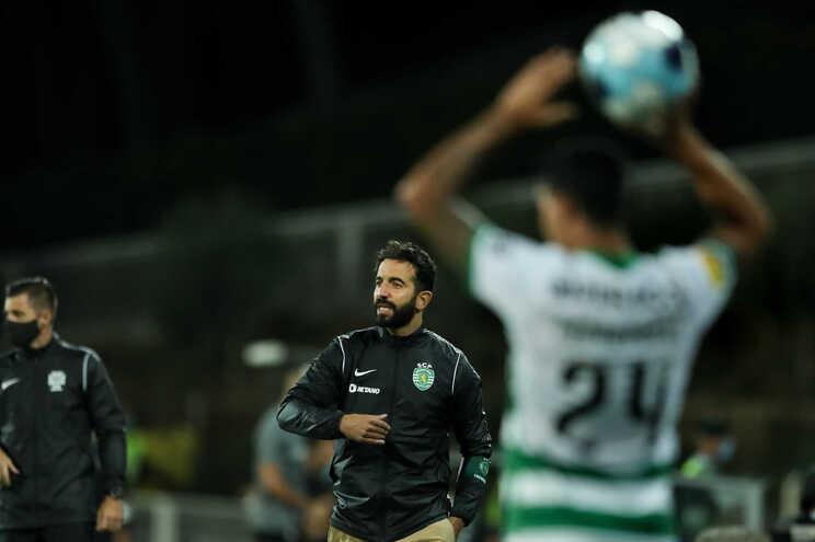 Ruben Amorim, treinador do Sporting