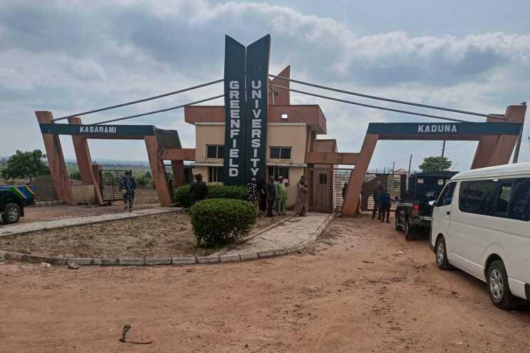Universidade de Greenfield em Kaduna onde os estudantes foram raptados