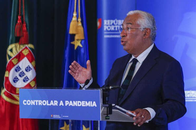 António Costa após a reunião de Conselho de Ministros