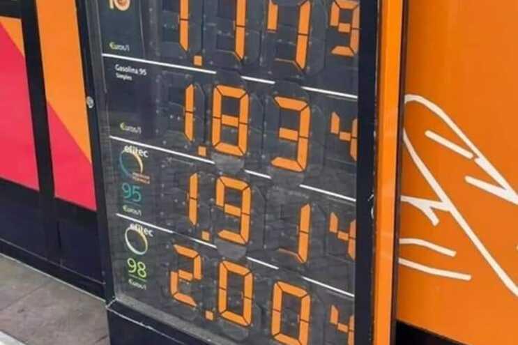 Na Repsol a gasolina 98 especial ultrapassou os dois euros