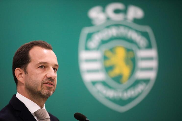 O presidente da SAD do Sporting, Frederico Varandas