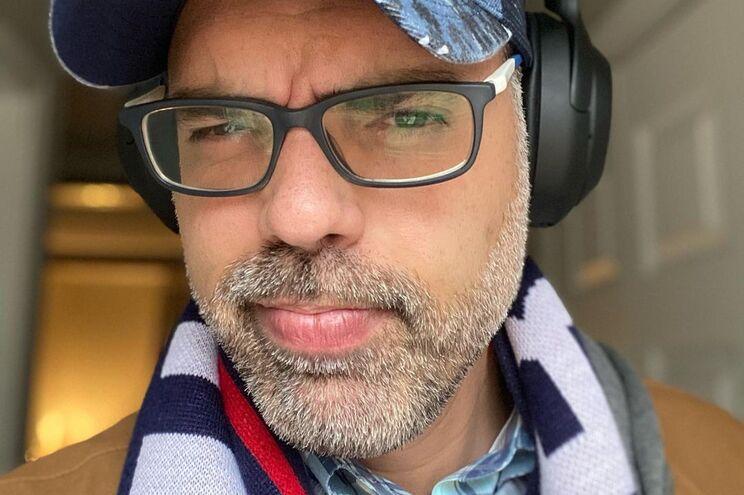 O blogger Allan dos Santos, militante de extrema-direita e apoiante de Bolsonaro