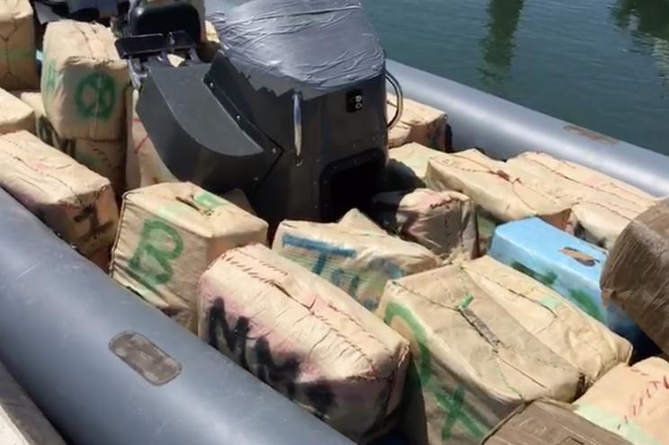 GNR colaborou com Guardia Civil na apreensão de mais de 800 quilos de haxixe