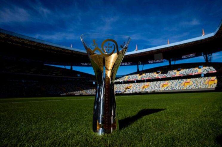 A Supertaça, primeiro troféu da época 2021/22, está marcada para 1 de agosto