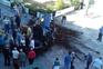 Condutora de 80 anos despista-se e invade Praça da República