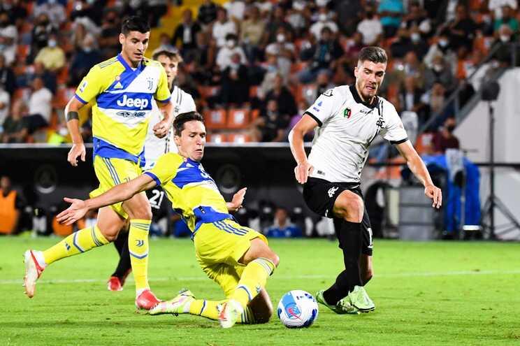 Juventus venceu o Spezia