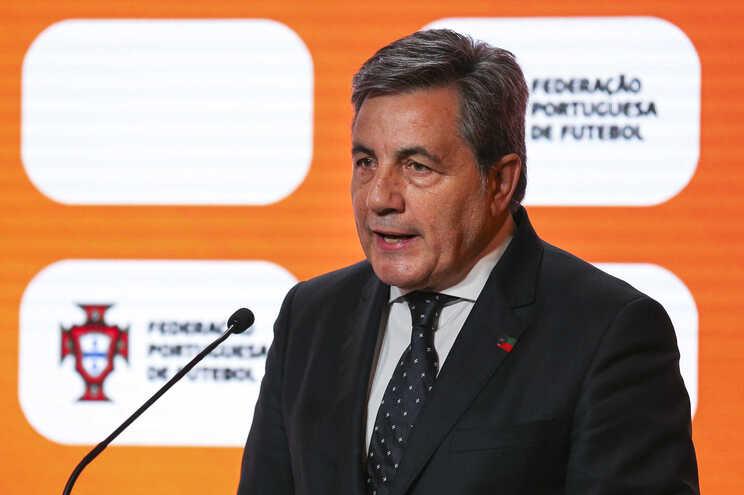 Fernando Gomes, presidente da Federação Portuguesa de Futebol