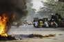 Junta no poder declara lei marcial em duas áreas da capital de Myanmar