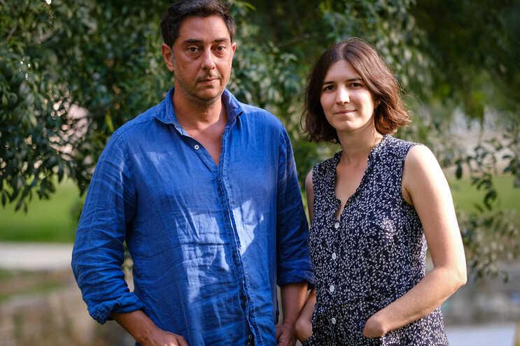 Os realizadores Miguel Gomes e Maureen Fazendeiro