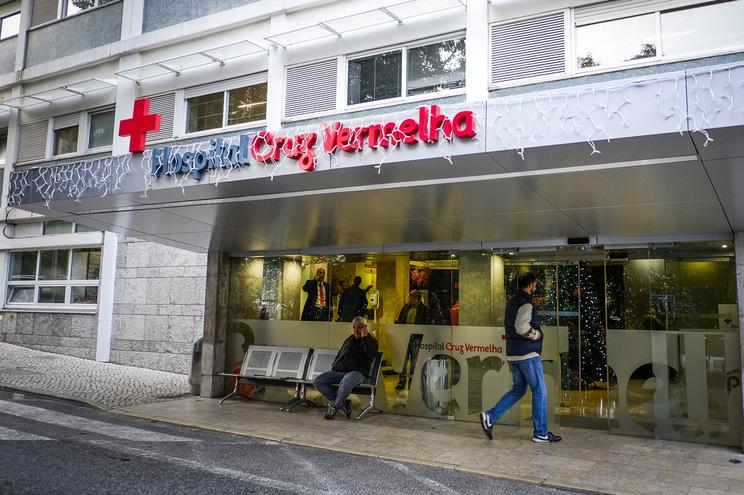 Hospital da Cruz Vermelha, em Lisboa