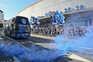 Adeptos portistas apoiaram equipa na saída do autocarro para Lisboa