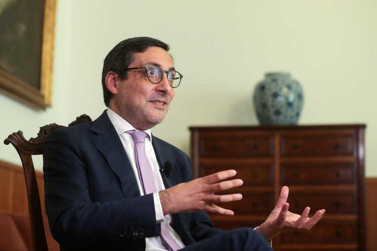 O secretário de Estado dos Assuntos Fiscais, António Mendonça Mendes
