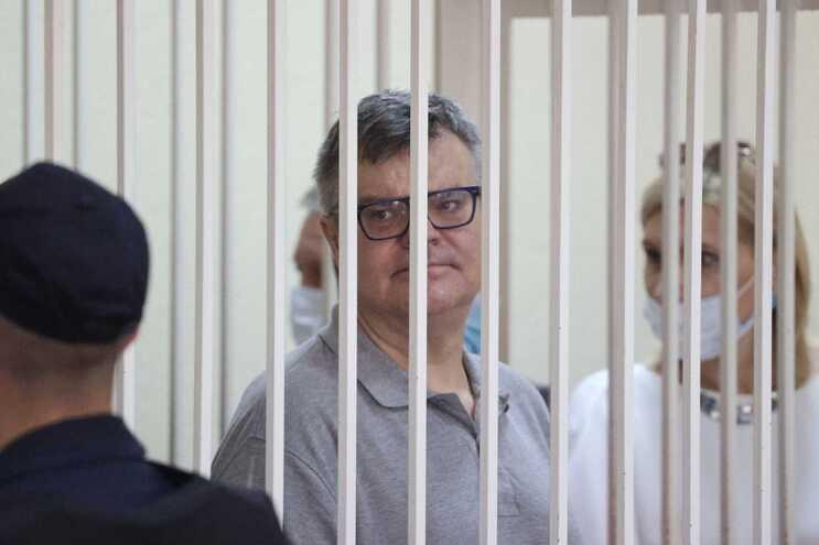 Viktor Babaryko foi detido em junho de 2020