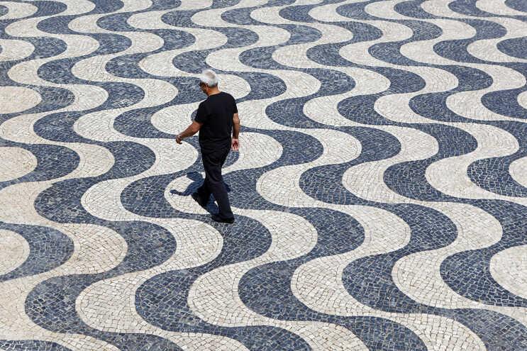 A calçada portuguesa é candidata a Património Cultural Imaterial Nacional