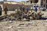 Carro bomba explodiu junto às instalações da polícia
