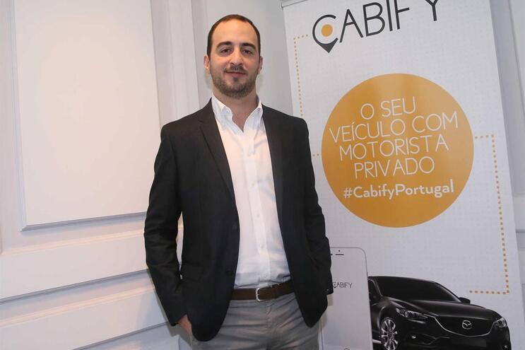 Nuno Santos, General Manager da Cabify Portugal
