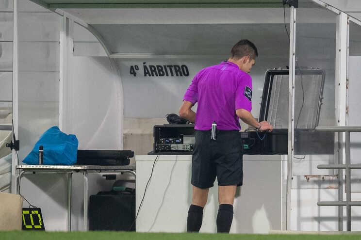 Videoárbitro registou 534 incidentes nas primeiras 12 jornadas da Liga
