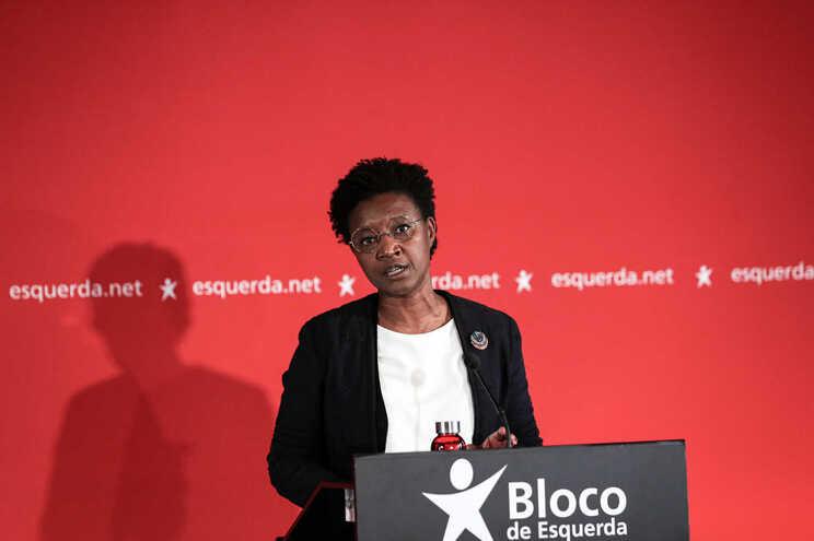 A candidata do Bloco de Esquerda à Câmara Municipal de Lisboa, Beatriz Gomes Dias