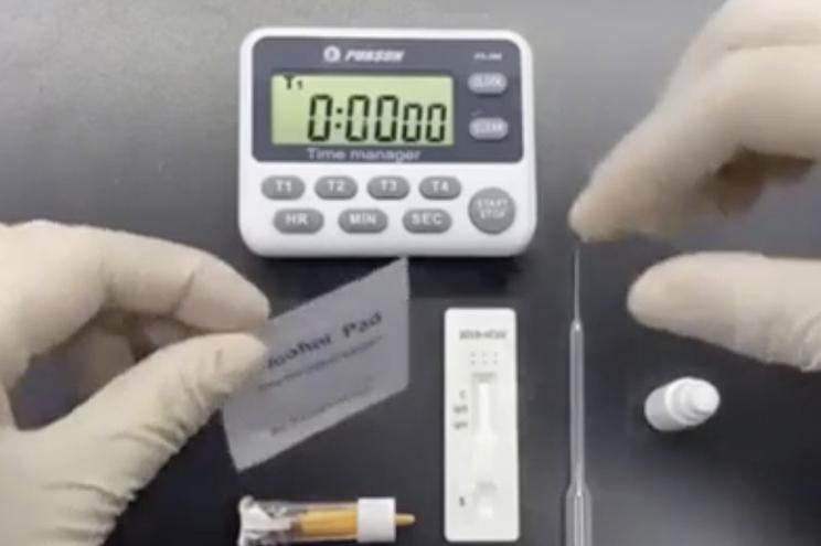 Empresa de português criou testes para a Covid-19 que demoram 15 minutos