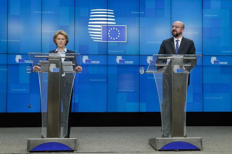 Líderes europeus estiveram reunidos por videoconferência