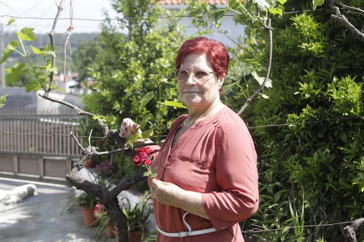 Júlia Ramalho, doente hipertensa, de 61 anos, passou de 116 quilos para 70 com um bypass gástrico e uma