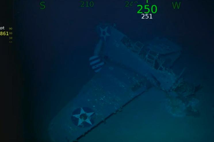 Encontrados destroços de porta-aviões dos EUA afundado na Segunda Guerra