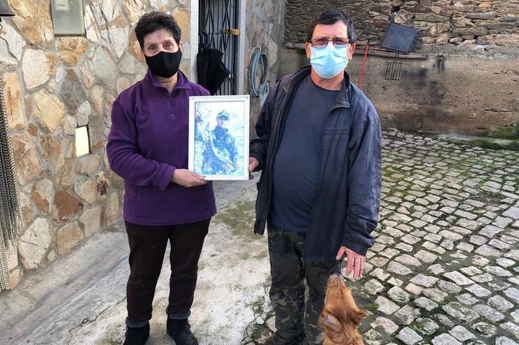 Maria José e Sérgio, pais de Cláudio Nascimento