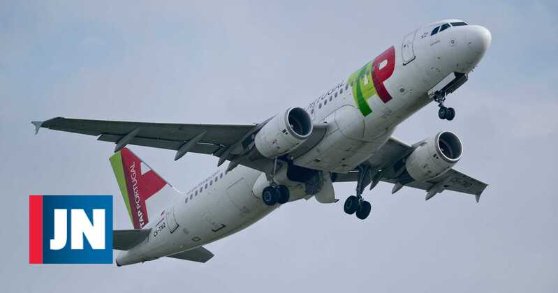 TAP plane flew over Lisbon for three hours