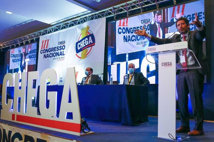 Congresso do Chega está a decorrer em Coimbra