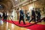 Cavaco Silva saiu da tomada de posse do atual chefe de Estado antes da sessão de cumprimentos