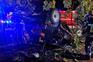 Quatro feridos num despiste em Baltar