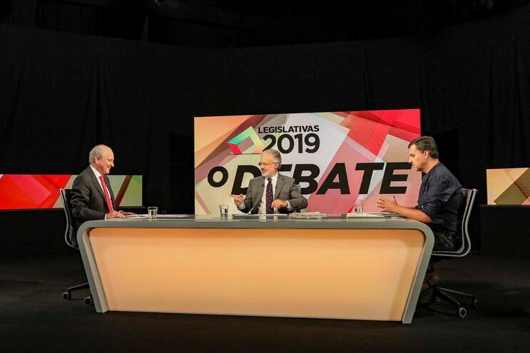 Eleições Legislativas, debate entre o Líder do PSD, Rui Rio e o Líder do PAN, André Silva, esta noite