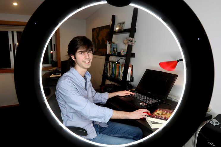 Gonçalo Correia estuda Engenharia Informática e Computação e teve média de 19,3