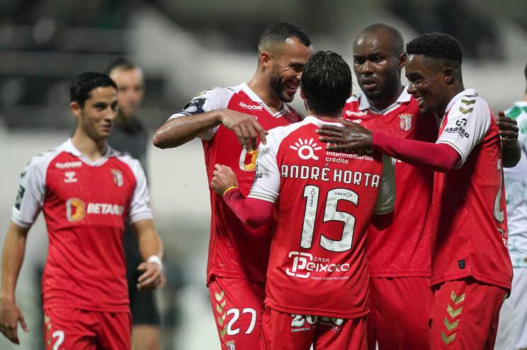 O Braga venceu o Moreirense esta segunda-feira