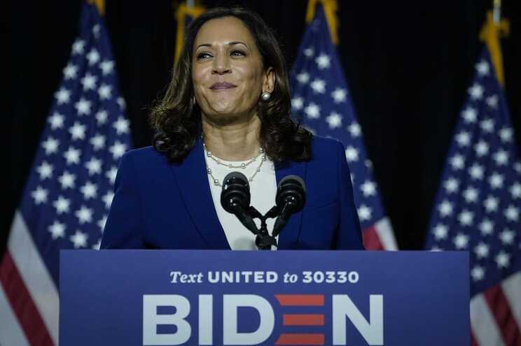 Kamala Harris, candidata de Joe Biden à vice-presidência