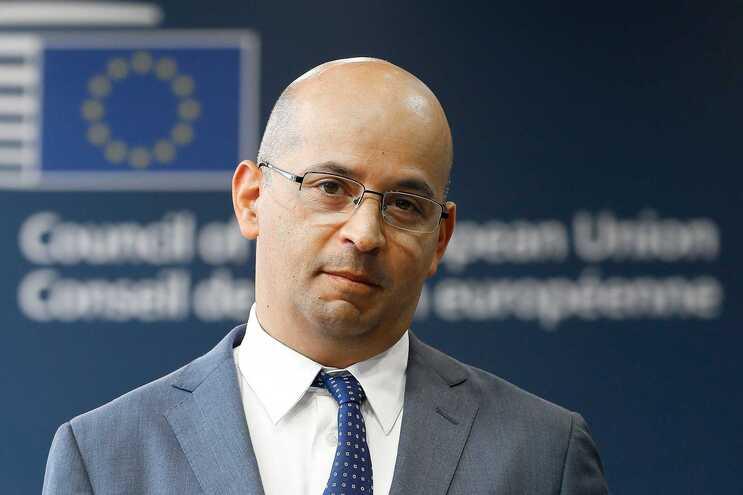 O ministro das Finança de Portugal, João leão