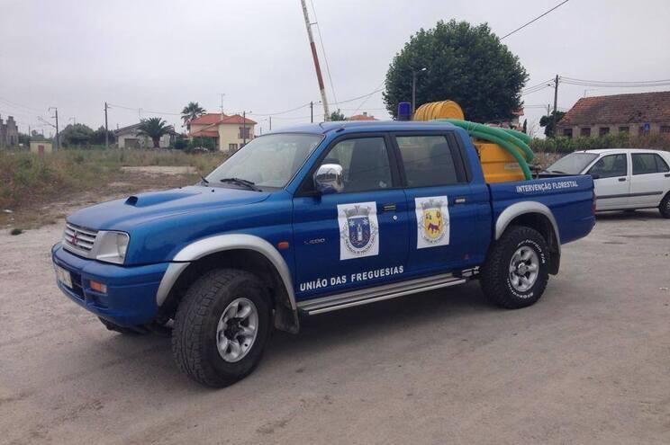 Ladrões roubam carrinha de combate a fogos de junta de freguesia