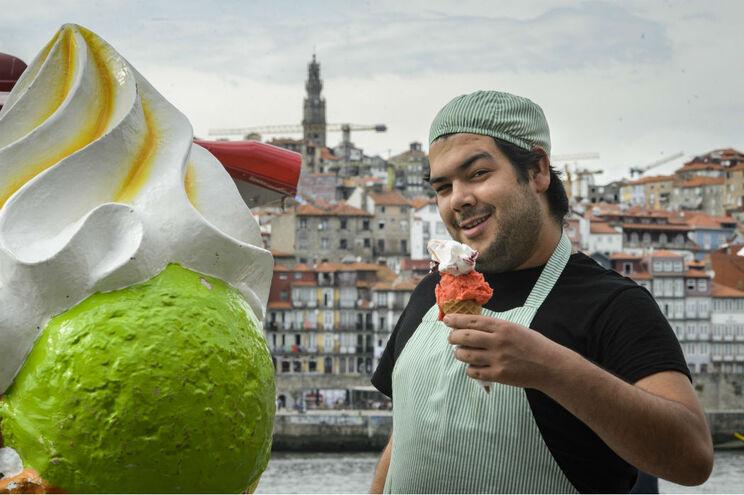 Marco Rosmaninho começou a exercer a atividade de gelateiro aos 16 anos