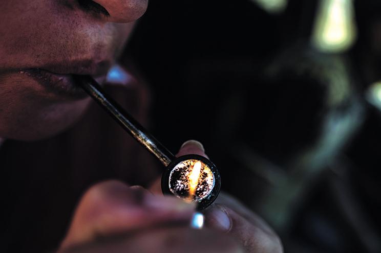 Só a partir de hoje é que o tráfico e consumo da droga conhecida por K4 passa a ser proibido em Portugal