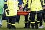Neymar lesionou-se este domingo
