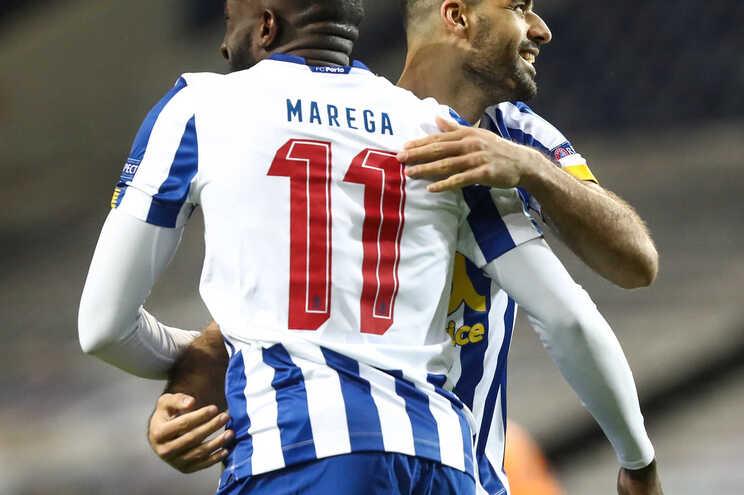 Dupla Marega e Taremi no ataque do F. C. Porto