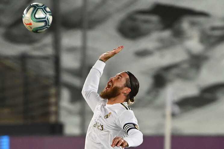 Sérgio Ramos deu a vitória ao Real Madrid